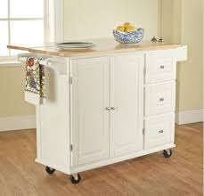 amazon com tms kitchen cart and island this portable small amazon com tms kitchen cart and island this portable small island table with wheels has a solid wood counter top 3 drawers and 3 cabinets for