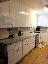 how to paint kitchen cabinets high gloss white discontinued high gloss white flat slab panel cabinets