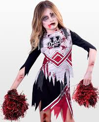 Scary Halloween Costumes Kids Girls Halloween Kids Zombie Cheerleader Costume Photo Album Cheerleader