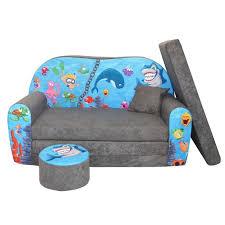 canape lit pour enfant lit enfant fauteuils canapé sofa pouf et coussin l océan ii