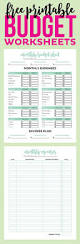 Personal Budget Excel Spreadsheet by Personal Budget Worksheet Semnext