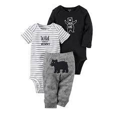 Conhecido Conjunto Bebê Menino Original Carter's 3 Peças Urso - Cute Baby  @LV39