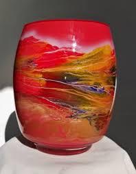 Classic Vases Classic Vases Hansa Art Glass Hand Glazed Vases