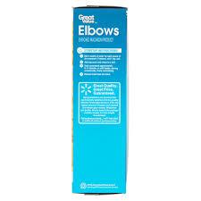 great value elbows 48 oz walmart com
