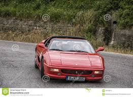 retro ferrari ferrari 348 cabrio editorial photography image of black 68725817