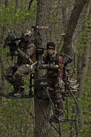 driven u0027s pat and nicole with big game treestands big game