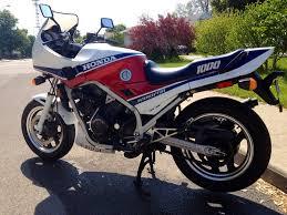 1986 honda vf1000f moto zombdrive com
