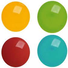 Par36 Pin Spot Gel Filter 4 Round Plastic Coloured