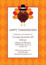 party411 thanksgiving invitations