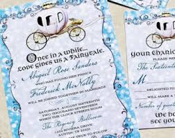 cinderella wedding invitations wedding carriage etsy