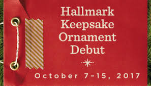 hallmark keepsake ornament premiere july 15 23 2017 hallmark