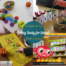 4 maths activities for getting ready for learning 4 kids
