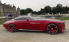 maybach and mercedes vision mercedes maybach 6 driven with a remote