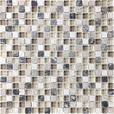 Stone Mosaic Tile Backsplash by 90 Best Glass And Stone Blends Images On Pinterest Mosaic Tiles