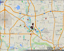 Unt Campus Map North Texas Earthquakes Linked To Two Mile Fault From Irving To