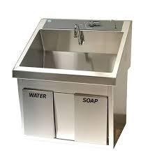 Scrub Sink fhcss32 single scrub sink scrub sinks future health concepts