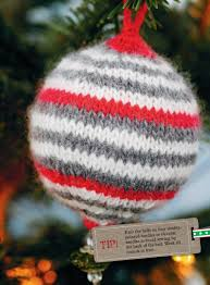 gorgeous knitted baubles from a swedish christmas i u0027m a really