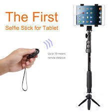 Monopod Hp Bluetooth Remote Tablet Pc Holder For Samsung Tab For Hp Self