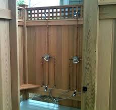 Outdoor Shower Room - outdoor showers gaining ground u2022 maison mass