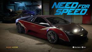 Lamborghini Murcielago Back - nfs 20 lamborghini murcielago nfs carbon wolf youtube