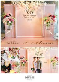 wedding entrance backdrop simple and sweet backdrop wedding backdrops