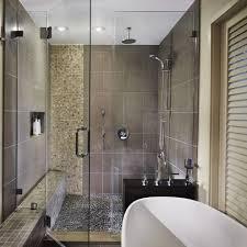 Farmhouse Kitchen Sf River Rock Floor Bathroom Farmhouse With Contemporary Design San