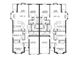 48 best duplex plan images on pinterest duplex house plans curb