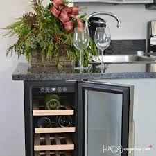 build your own refrigerated wine cabinet diy built in wine cooler h20bungalow