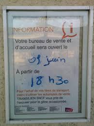 bureau sncf 16 ma gare est fermée