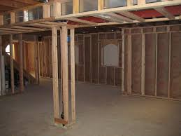 latest ideas for finishing concrete basement walls with wall