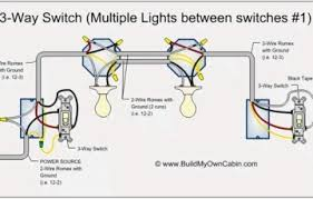 three way switch wiring diagrams one light efcaviation com
