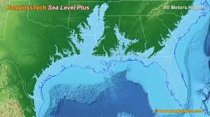 More Sea Level Rise Maps Sea Level Rise On The Us Gulf Coast New Hd Youtube