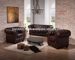 Chesterfield Leather Sofa by Malaysia Made Furniture Leather Sofa Malaysia Made Furniture