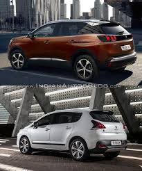 peugeot 3008 interior peugeot 3008 interior old vs new indian autos blog