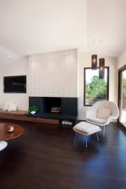 Wood Fireplace Surround Kits by Pretty Fireplace Surround Kits In Family Room Midcentury With Wood