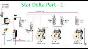 symbols appealing delta starter motor circuit diagram