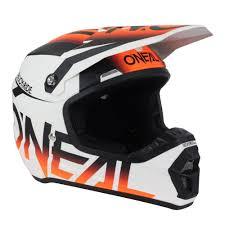 motocross gears oneal new 2017 mx 5 series blocker white hi viz fluro orange