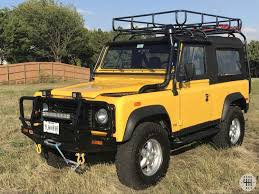 90s land rover for sale 1994 land rover defender 90 nas for sale second daily classics