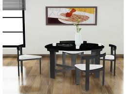 home design nice space saving round dining table room within