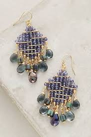 kalista earrings anthropologie jewel and beads