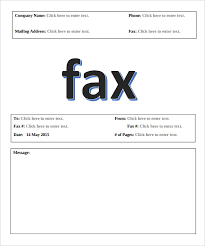 10 basic fax cover sheet templates u2013 free sample example format