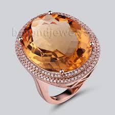 citrine engagement rings aliexpress buy citrine jewelry genuine citrine