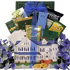 Housewarming Basket Amazon Com Great Arrivals Housewarming Gift Basket Settling In