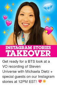 Michaela Meme - instagram stories takeover get ready for a bts look at a vo