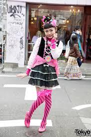 6 dokidoki yuka in pink stockings u0026 cute bows