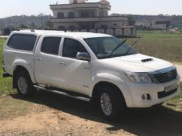 in pakistan toyota hilux double cabin invincible white mirpur