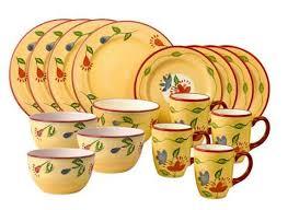 pfaltzgraff everyday palermo 16 pc dinnerware set deal