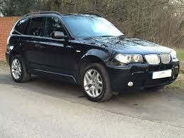 Bmw X3 Disel Used 2006 Bmw X3 3 0 Sd M Sport For Sale In Chesterfield