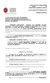 formato de pago del estado de mexico 2015 formato demanda margarita 2015