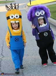 Minions Halloween Costumes Adults 25 Twin Costume Ideas Baby Ideas Twin